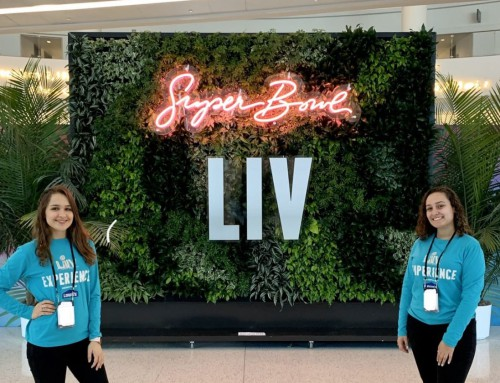 Hospitality & Event Management Students get real world Experience at Super Bowl LIV