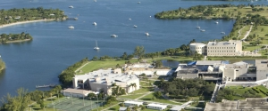 Aerial view of the FIU Biscayne Bay Campus