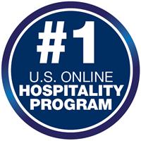 #1 U.S. online hospitality program
