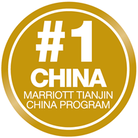 #1 in China for Hospitality Management Degrees, Marriott Tianjin China Program