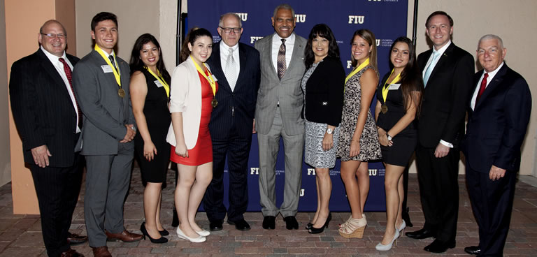 Fall 2015 FIU hospitality management Carnival Gold Scholars