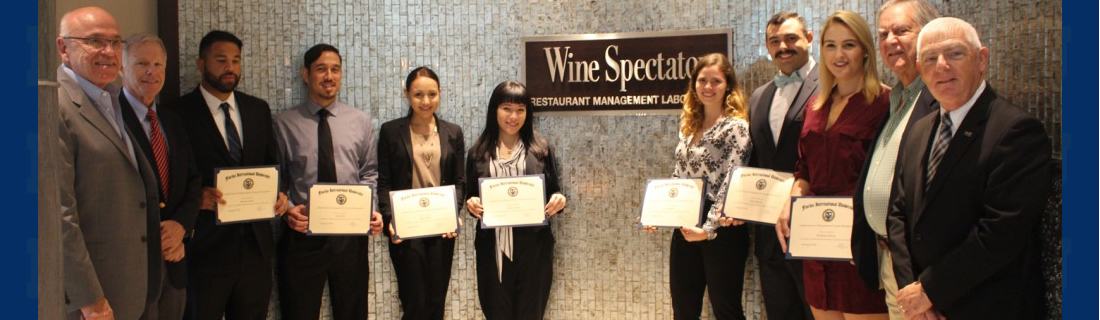 International Wine and Food Society Scholarship Recipients