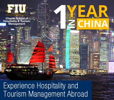 One year in China. Learn hospitality and tourism management abroad