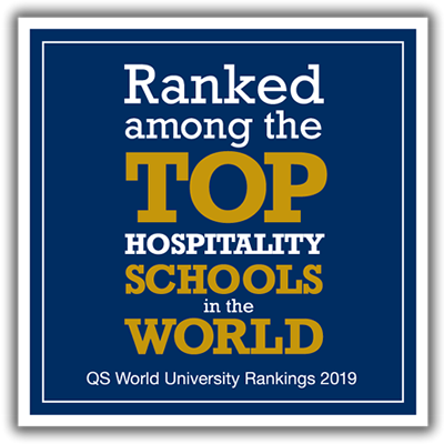Ranked among the top hospitality schools in the world.